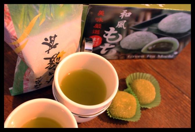 Une pause japonaise : mochi et thé